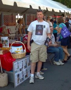 Bookmarks Festival in Winston Salem - Barnhills tent