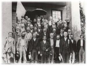 Reunion photo of McCalla's Rifles