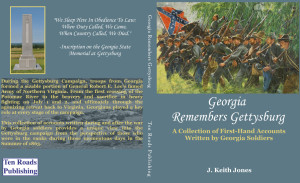 Georgia Remembers Gettysburg cover draft