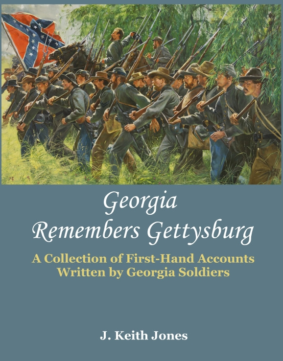 Georgia Remembers Gettysburg front cover draft