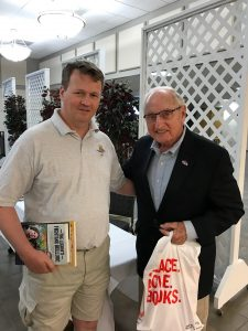 J. Keith Jones with Coach Vince Dooley